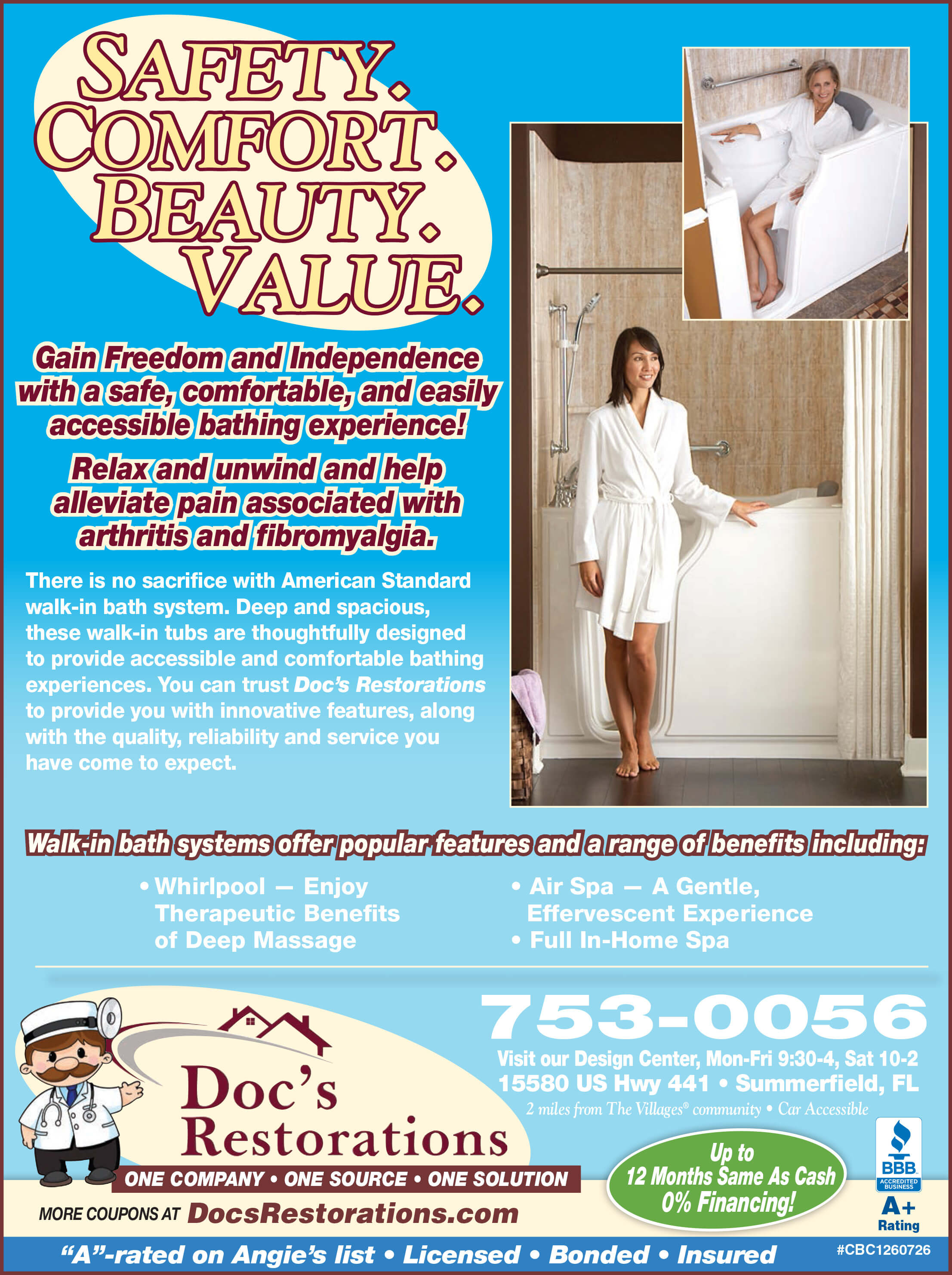 Doc\'s Restorations: Bathroom Remodeling in The Villages, Ocala and ...